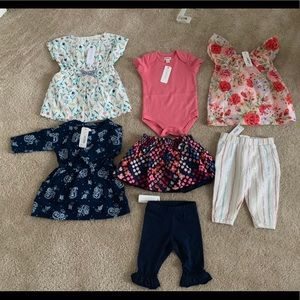 Gymboree clothing 3-6 month bundle BNWT